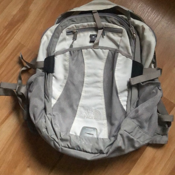Northface Recon White Backpack